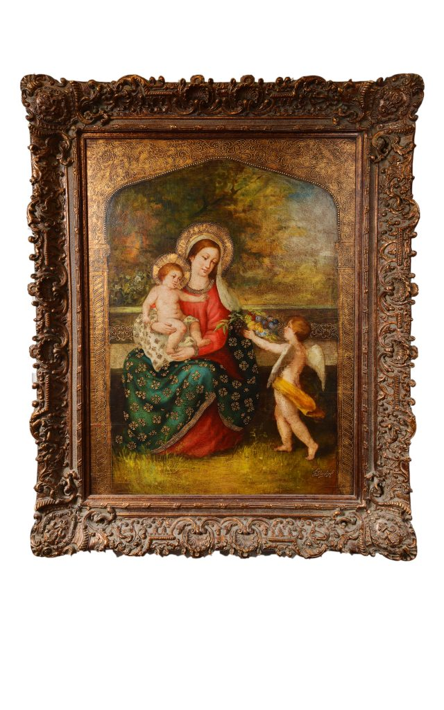 """<strong>Gift from Heaven</strong><br>61"""" x 49""""<br>$5,650"""