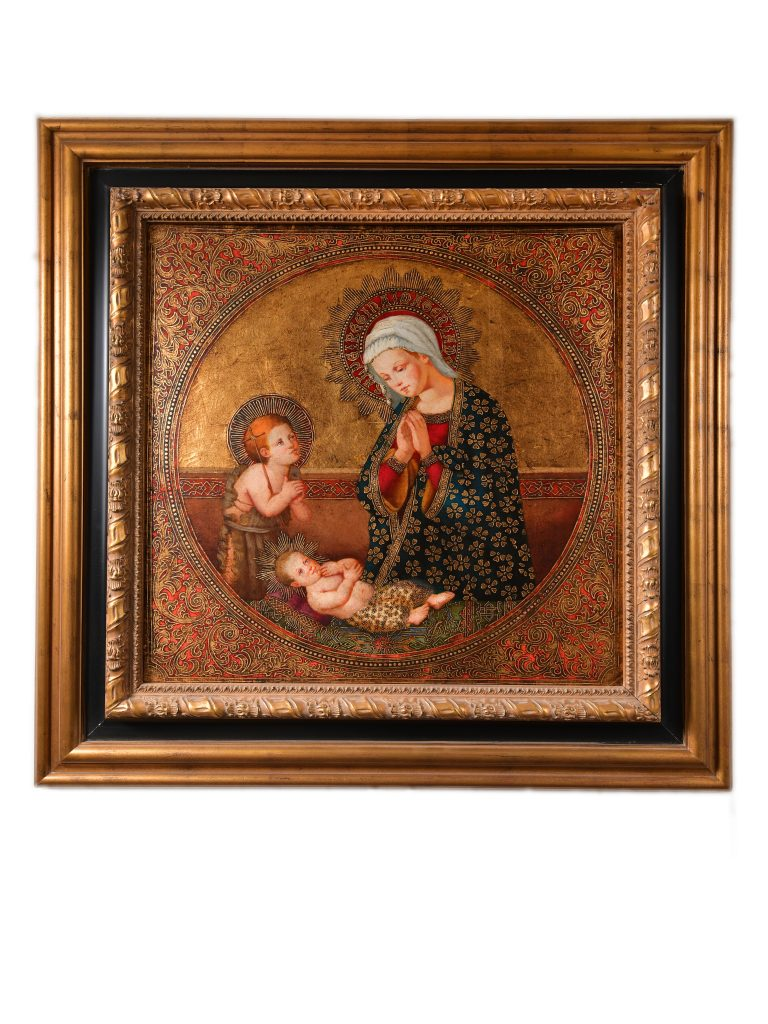 """<strong>Beholding the Lamb of God<br></strong>45"""" x 44""""<br>$4,500"""