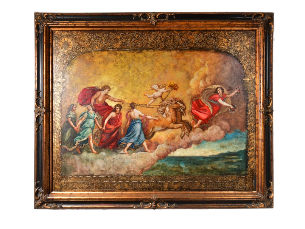 """<strong>Chariot to Heaven<br></strong>57"""" x 71""""<br>$5,500"""