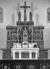 Previous Altar